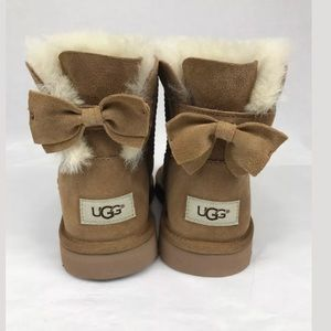 UGG Shoes - UGG MEILANI BOW BOOTS BOOT CHESTNUT SHEEPSKIN